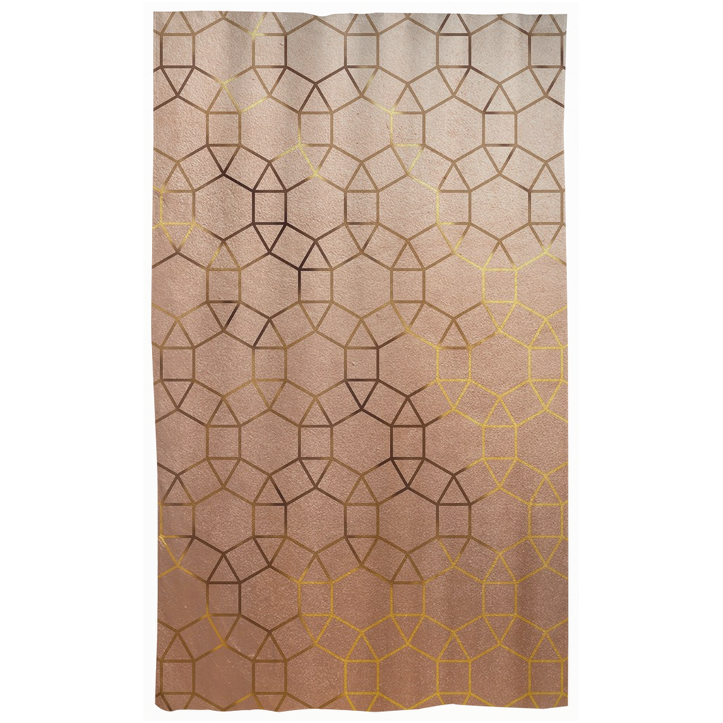 Castlefield Design Glam Geometric Curtains