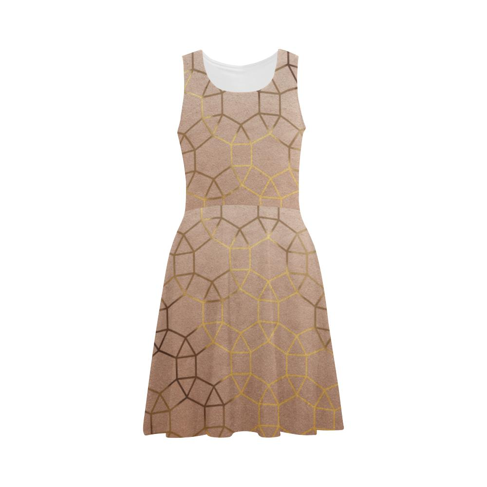 Castlefield Design Glam Geometric Flare Dress