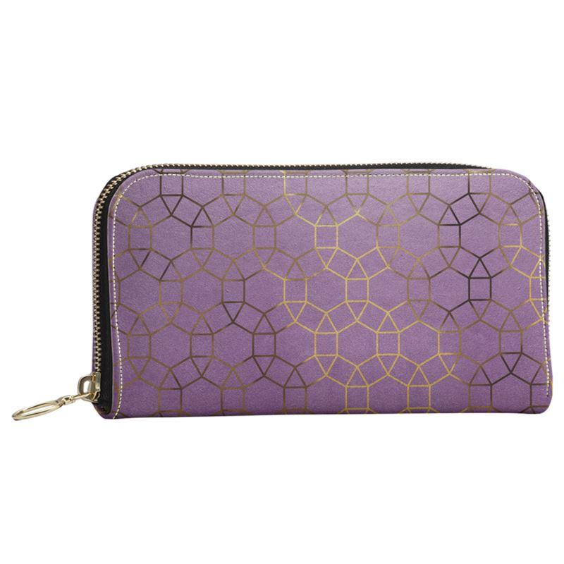 Castlefield Design Glam Geometric Large Wallet