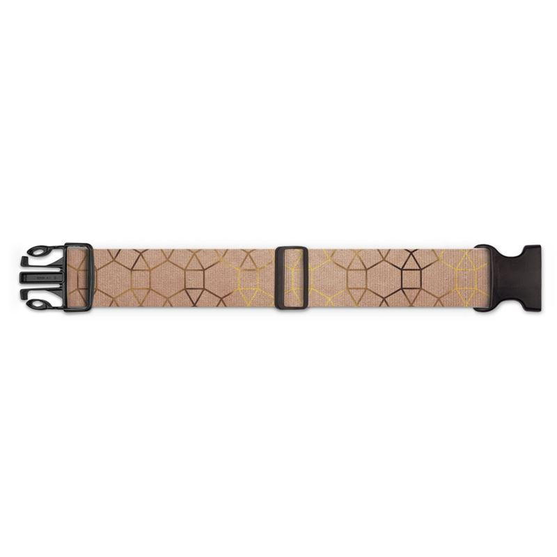 Castlefield Design Glam Geometric Luggage Strap