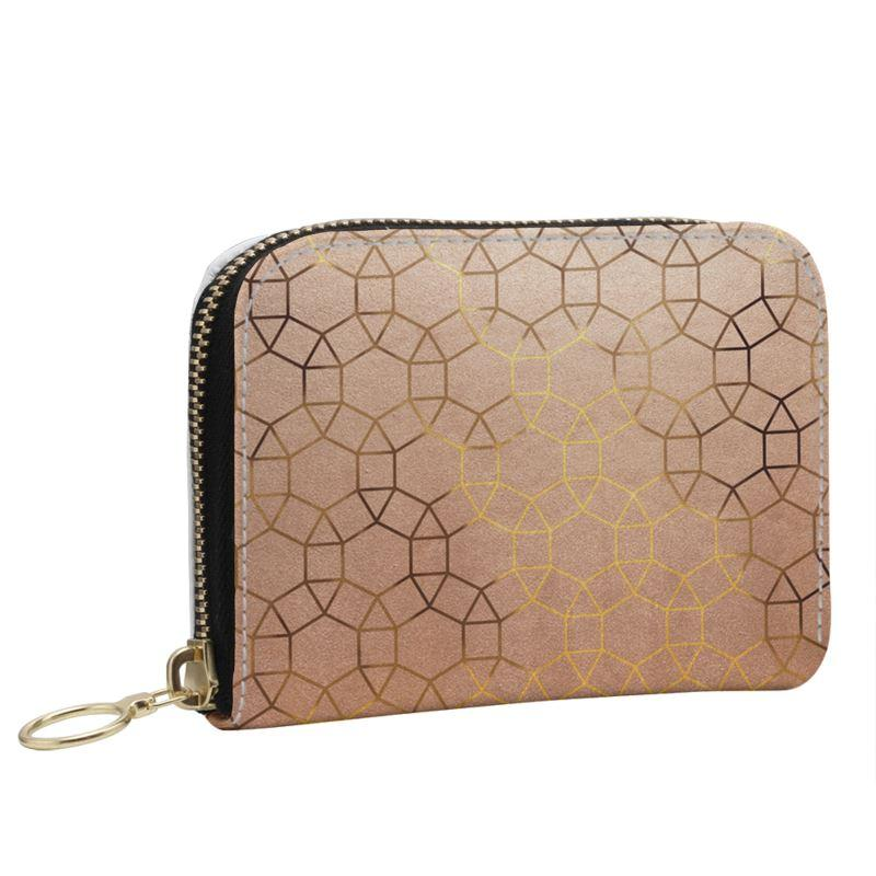Castlefield Design Glam Geometric Small Wallet