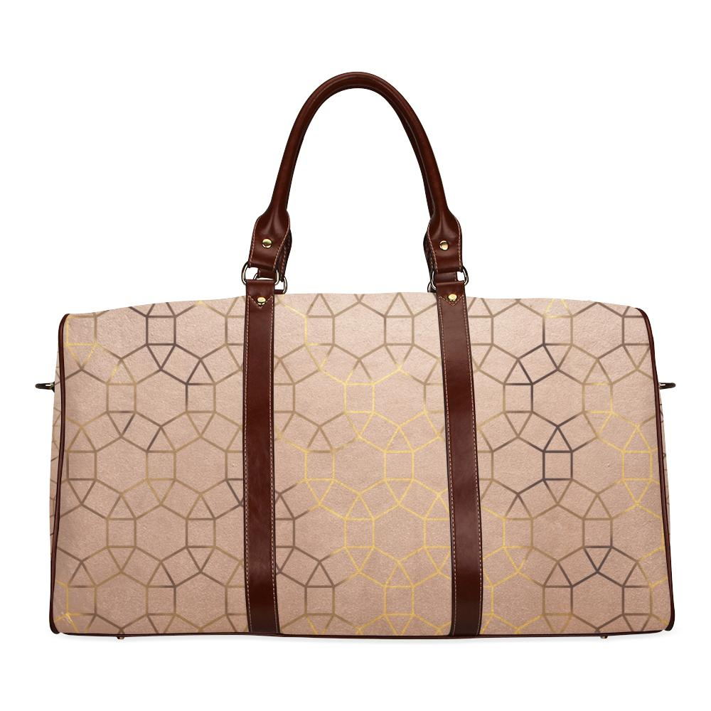 Castlefield Design Glam Geometric Travel Bags