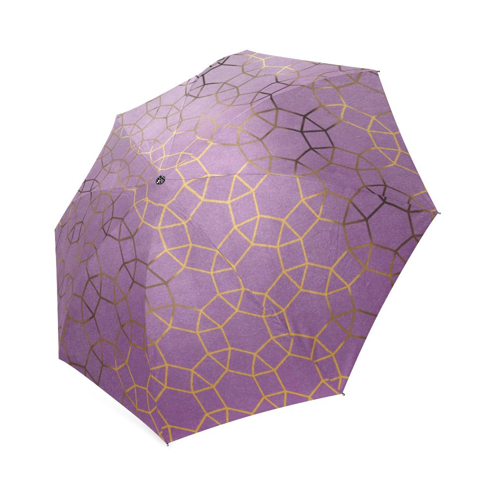 Castlefield Design Glam Geometric Umbrella