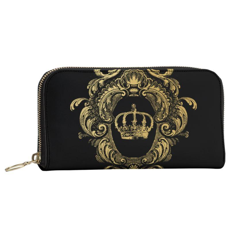 Castlefield Design Gold Crown Large Wallet