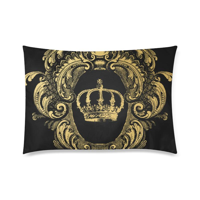 Castlefield Design Gold Crown Pillow Cases