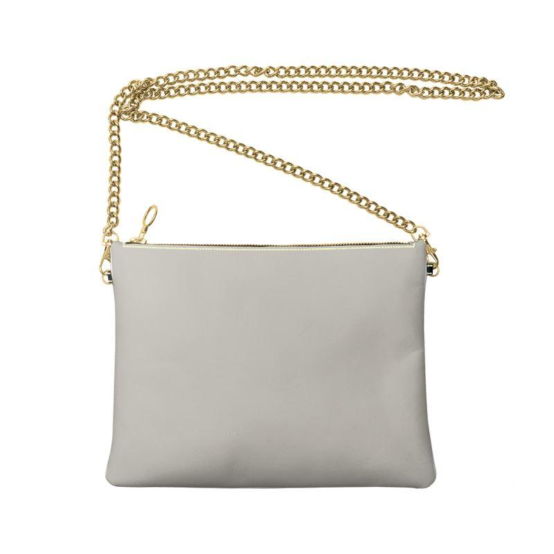 Castlefield Design Gray Crossbody Bag