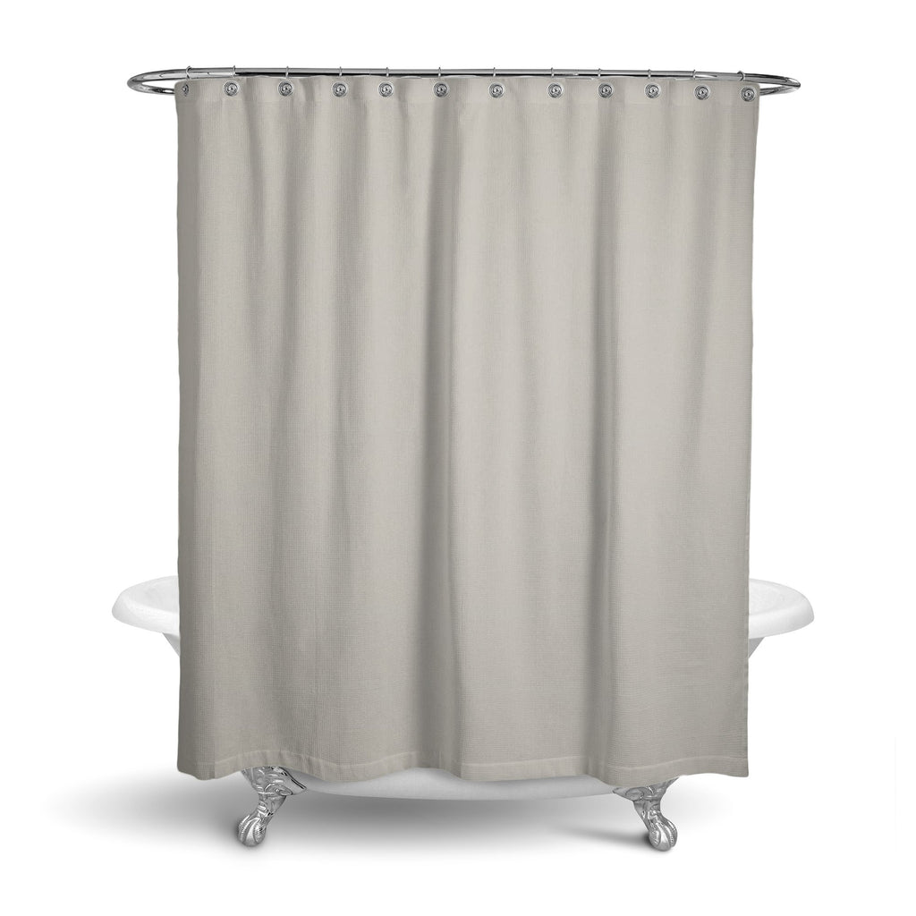 Castlefield Design Gray Shower Curtain