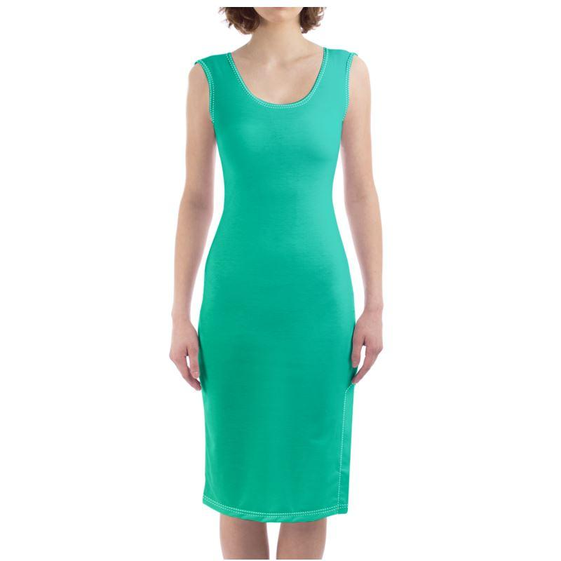 Castlefield Design Green Bodycon Dress