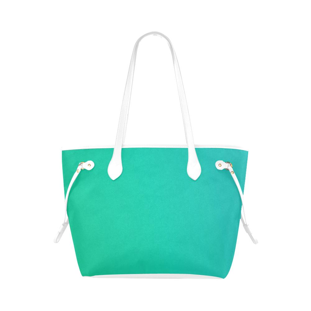 Castlefield Design Green Canvas Tote