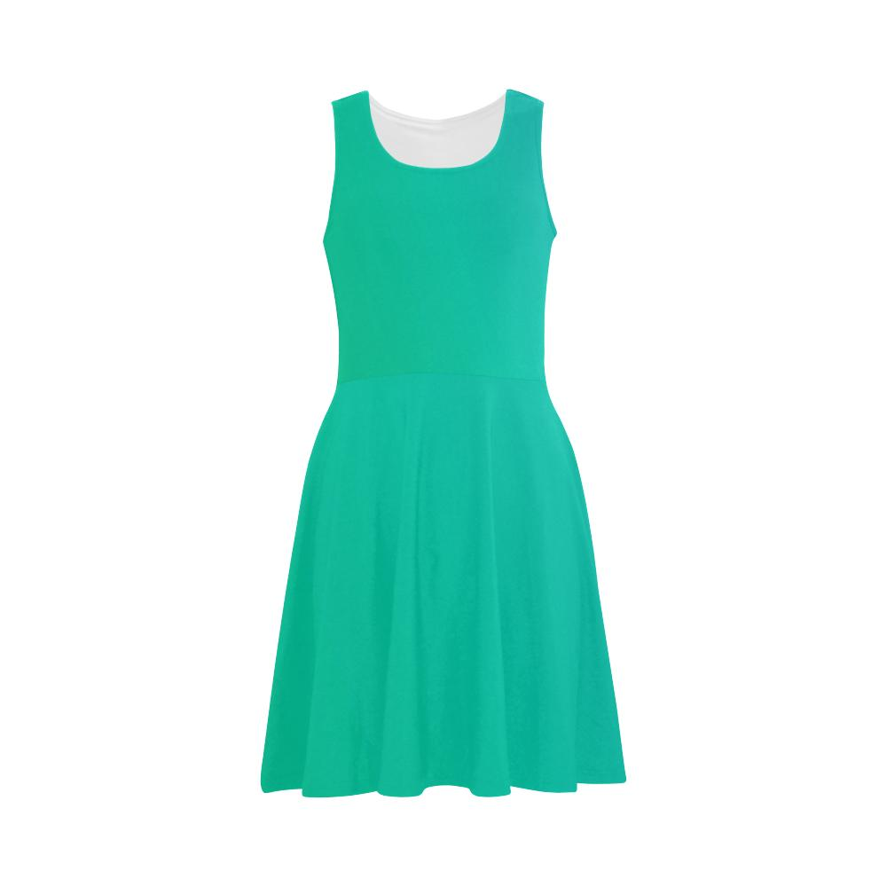 Castlefield Design Green Flare Dress