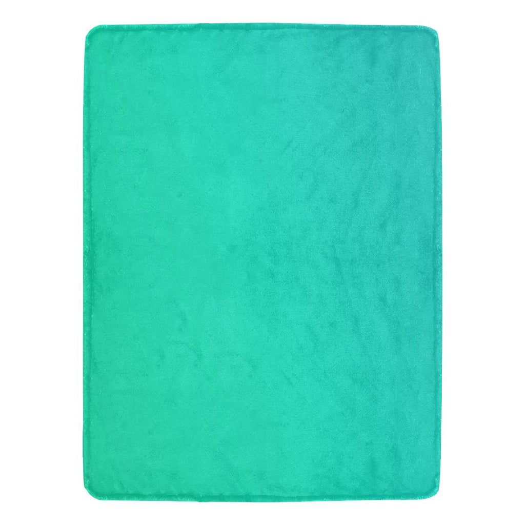 Castlefield Design Green Throw Blanket