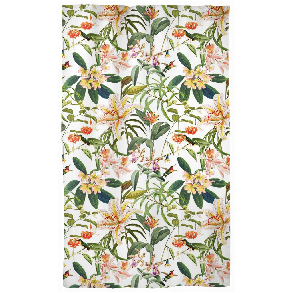 Castlefield Design Hummingbird Garden Curtains