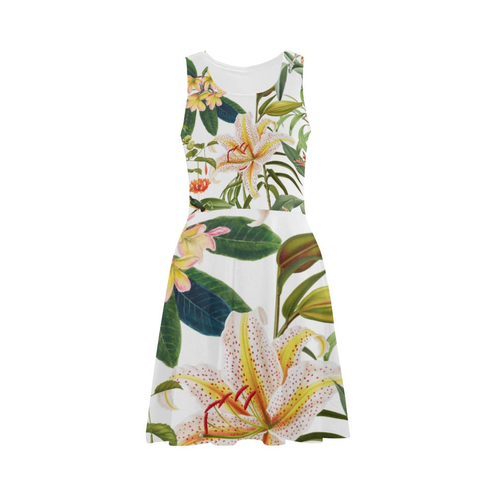Castlefield Design Hummingbird Garden Flare Dress