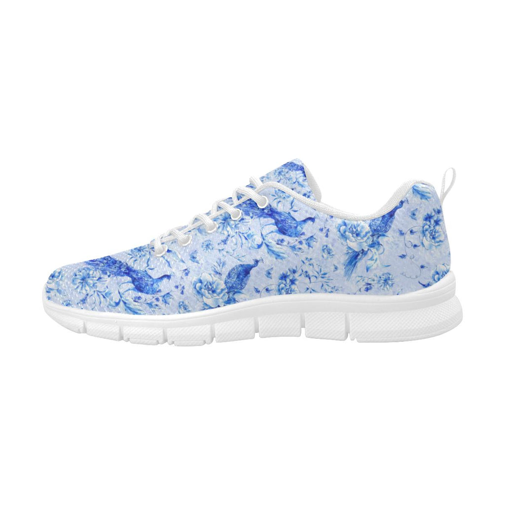 Castlefield Design Indigo Peacock Blue Sneakers