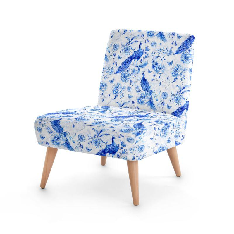 Castlefield Design Indigo Peacock Chair
