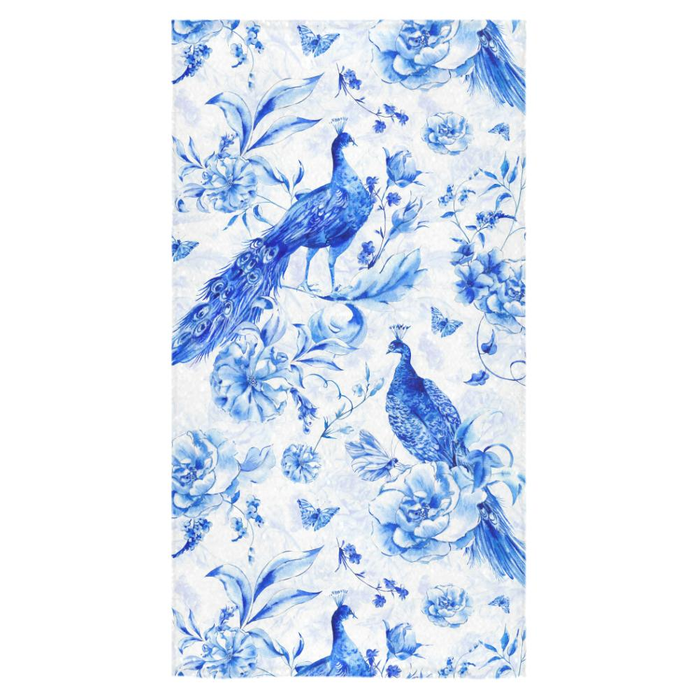 Castlefield Design Indigo Peacock Towels