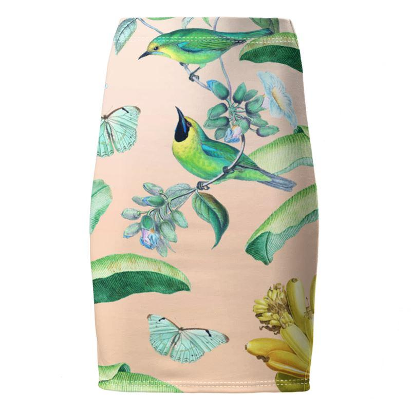 Castlefield Design Jungle Dreams Pencil Skirt
