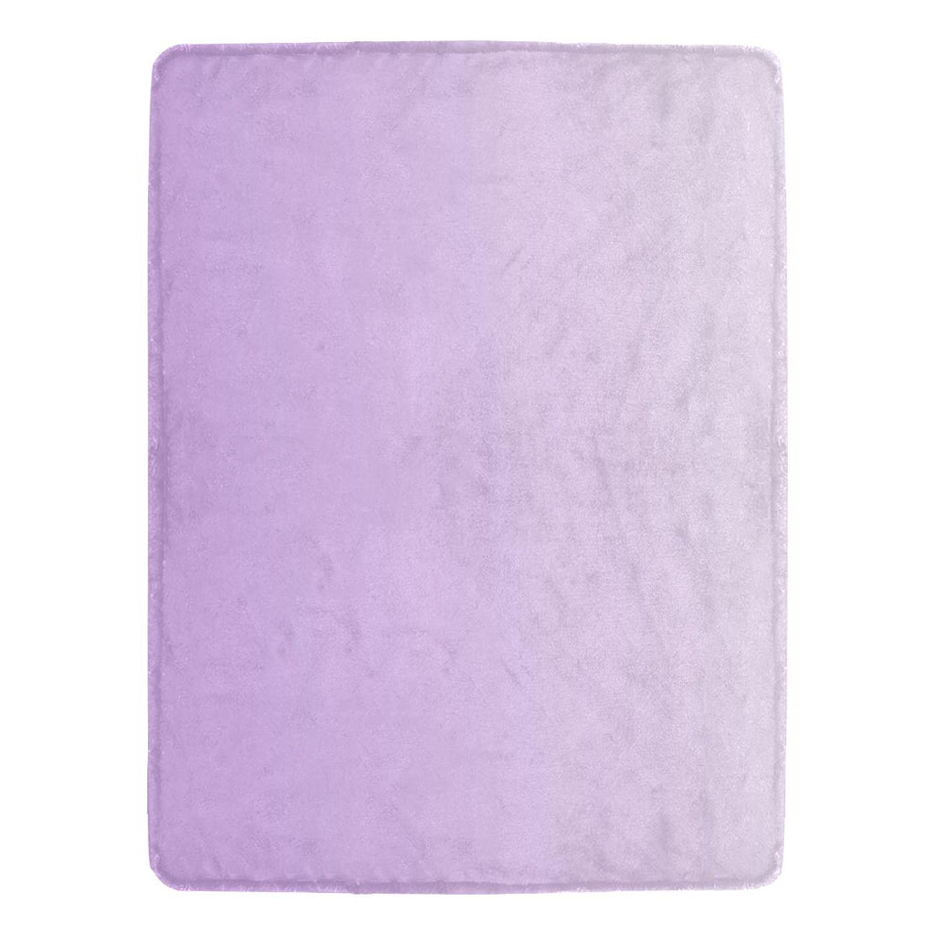 Castlefield Design Lavender Throw Blanket