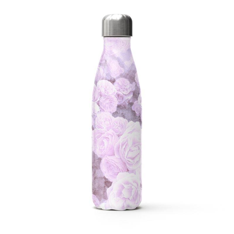 Castlefield Design Lilac Floral Thermal Bottle