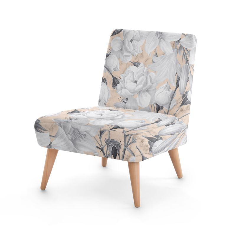 Castlefield Design Marble Floral Chair