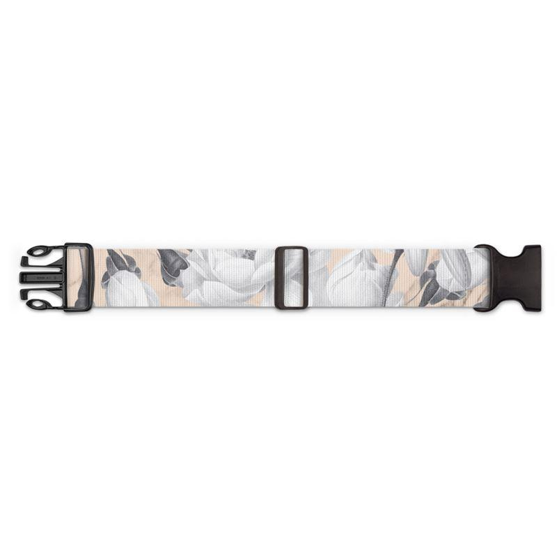 Castlefield Design Marble Floral Luggage Strap