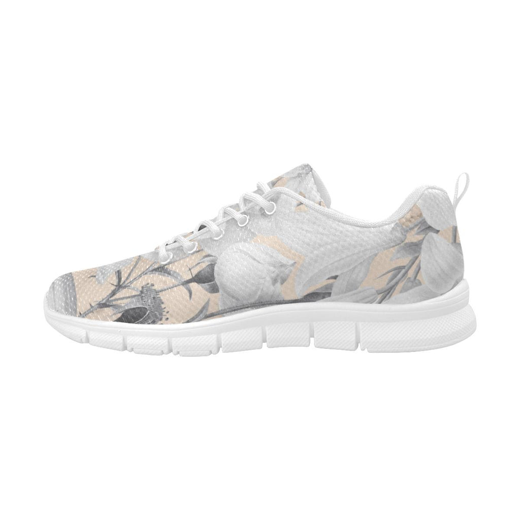 Castlefield Design Marble Floral Sneakers