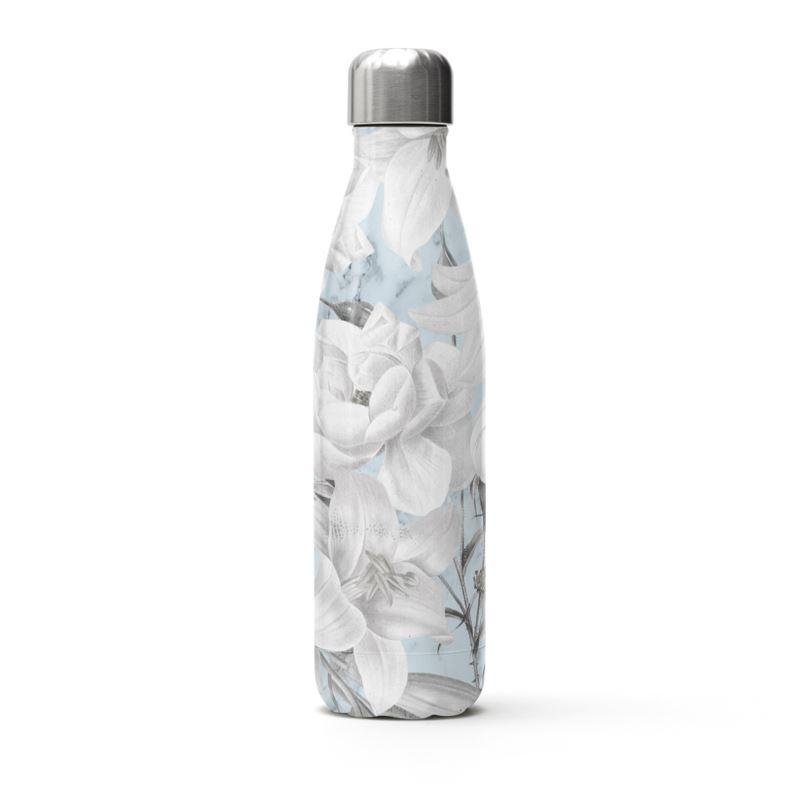 Castlefield Design Marble Floral Thermal Bottle