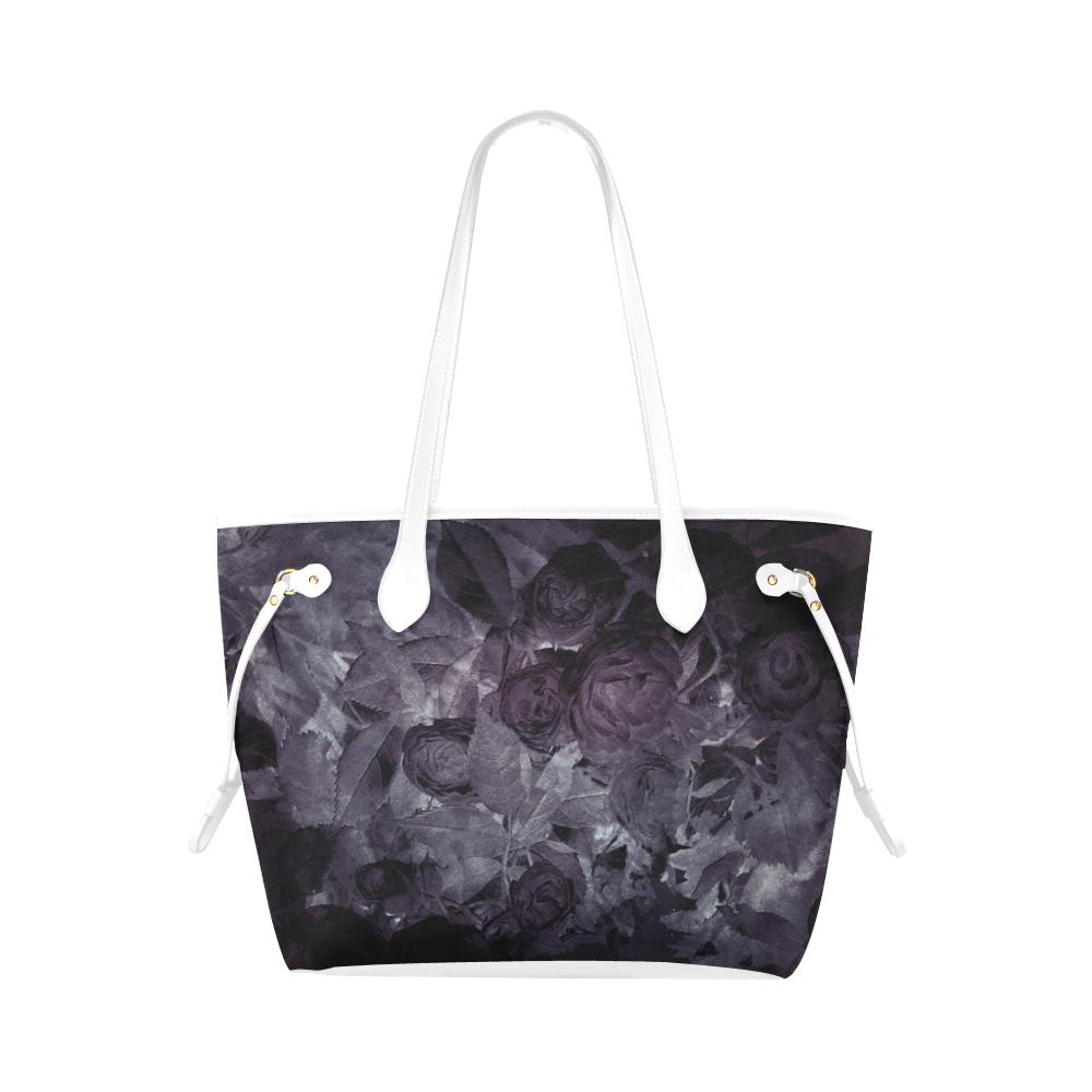 Castlefield Design Midnight Roses Canvas Tote