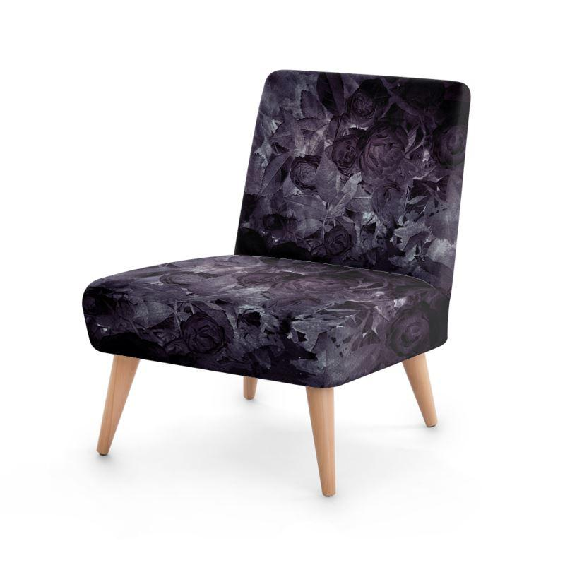 Castlefield Design Midnight Roses Chair