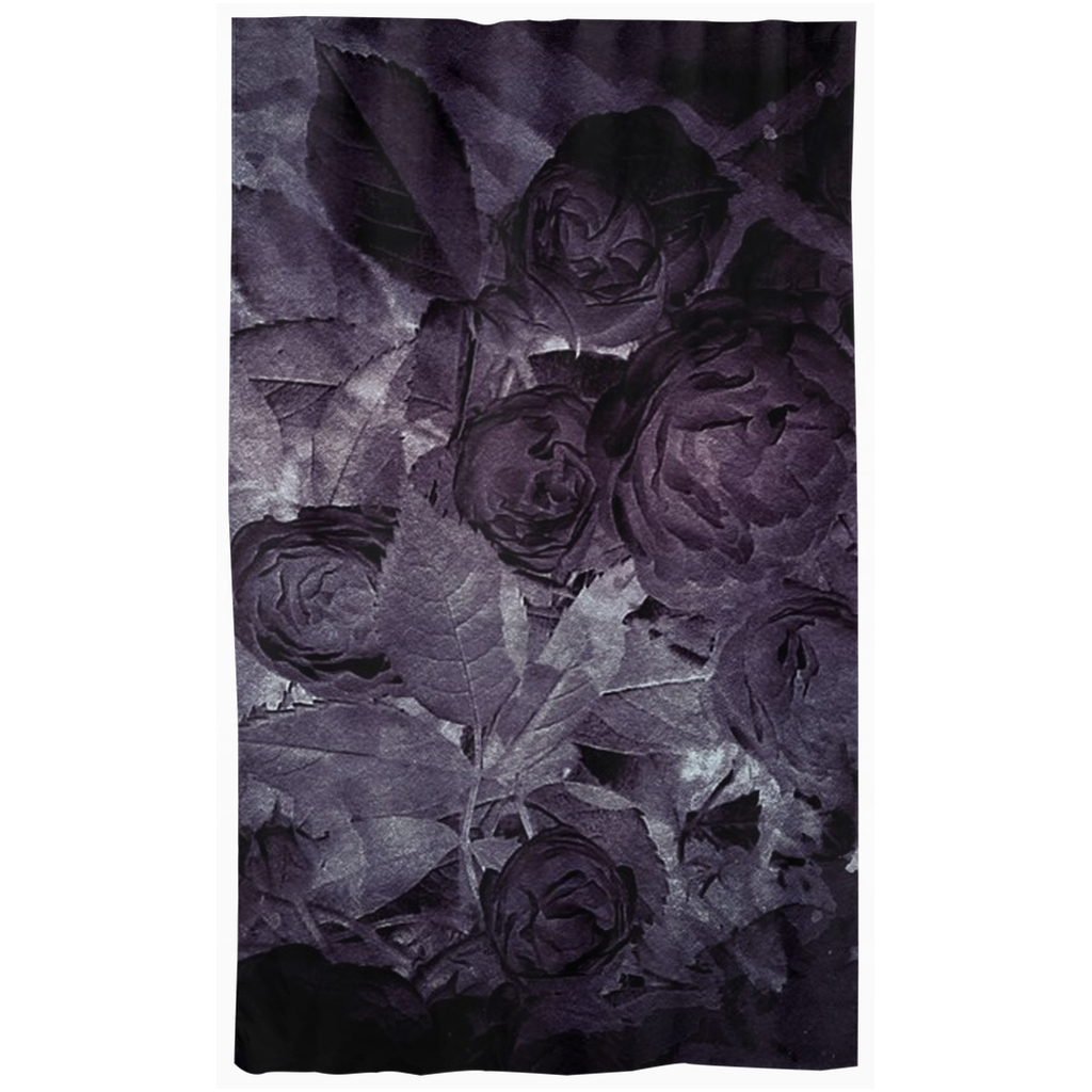 Castlefield Design Midnight Roses Curtains