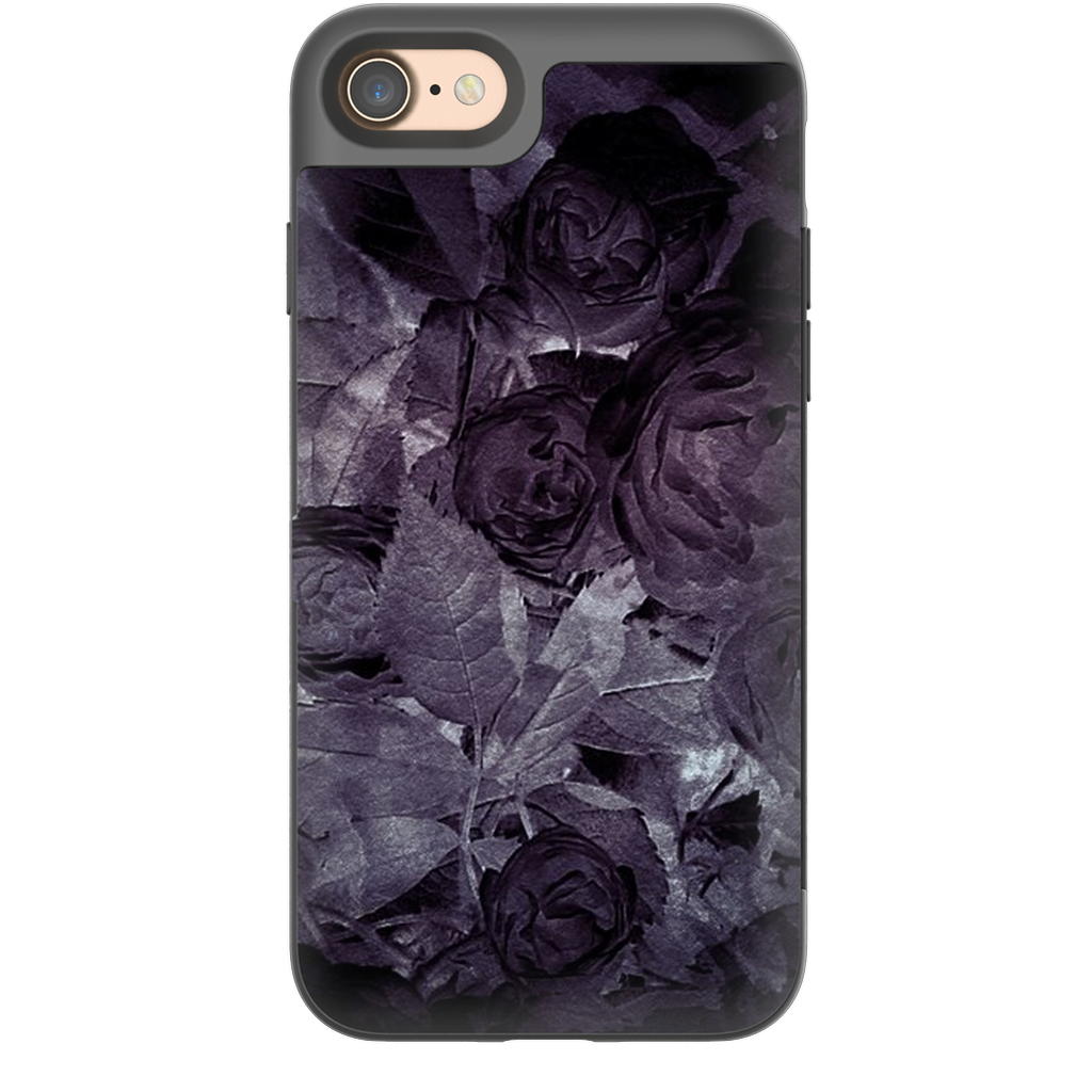 Castlefield Design Midnight Roses iPhone Cases