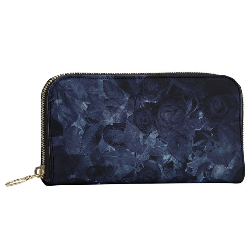 Castlefield Design Midnight Roses Large Wallet