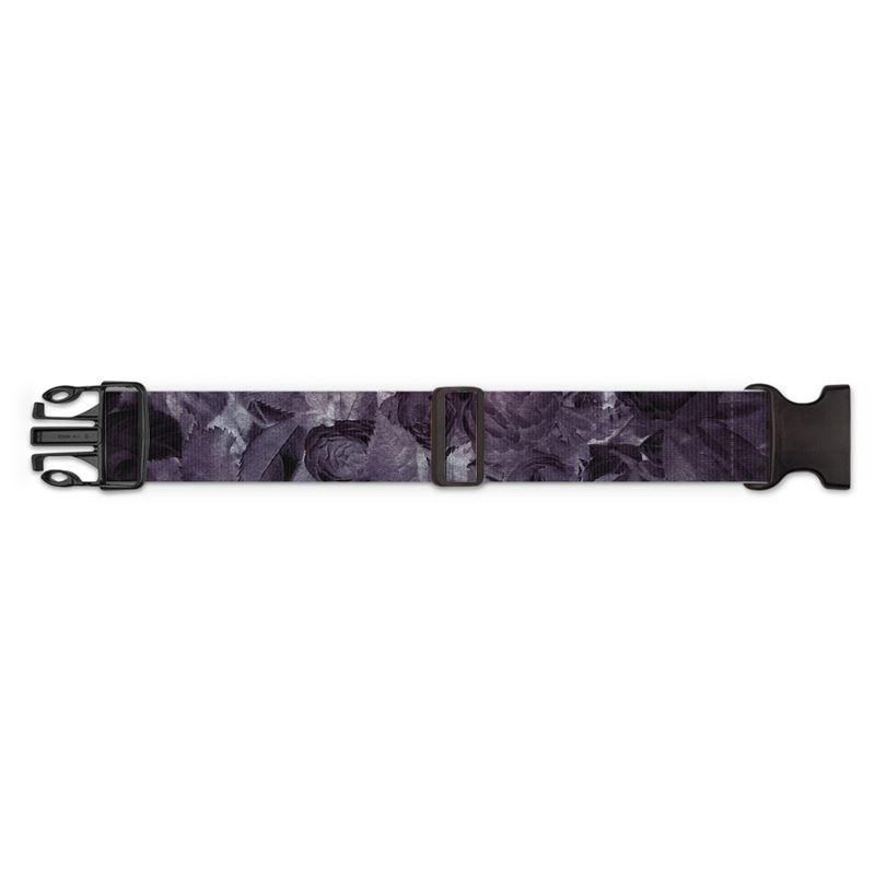 Castlefield Design Midnight Roses Luggage Strap