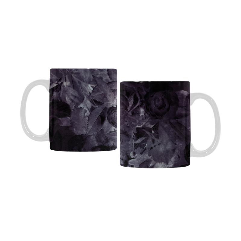 Castlefield Design Midnight Roses Mug
