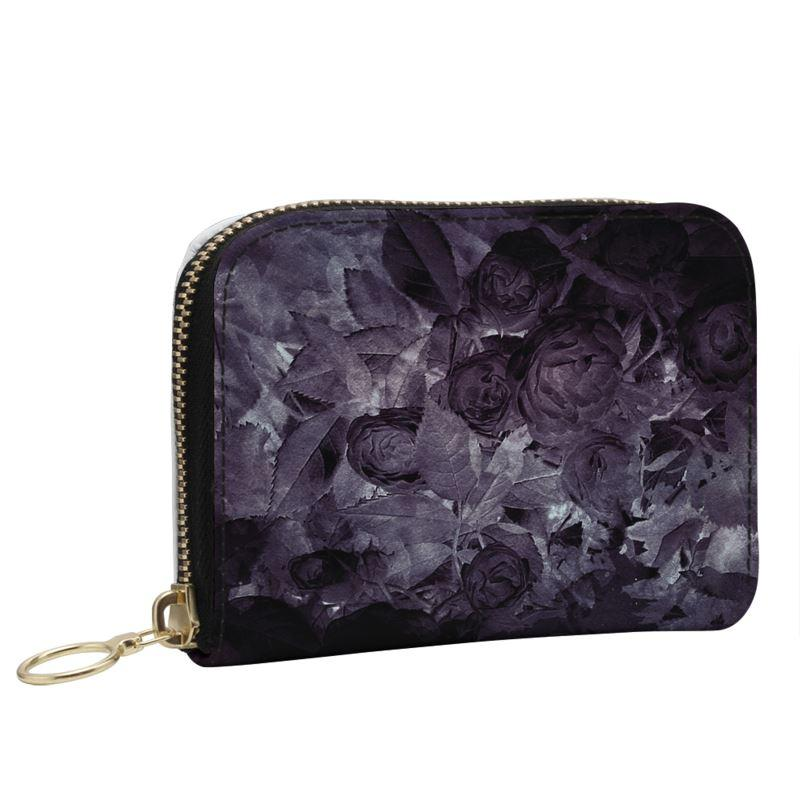 Castlefield Design Midnight Roses Small Wallet