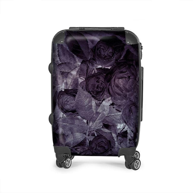 Castlefield Design Midnight Roses Suitcase