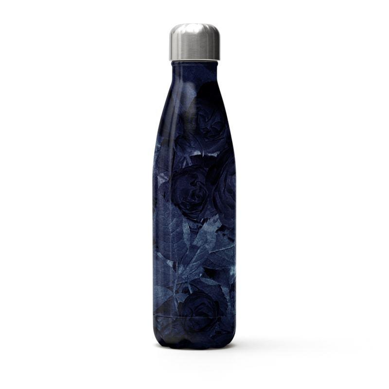 Castlefield Design Midnight Roses Thermal Bottle