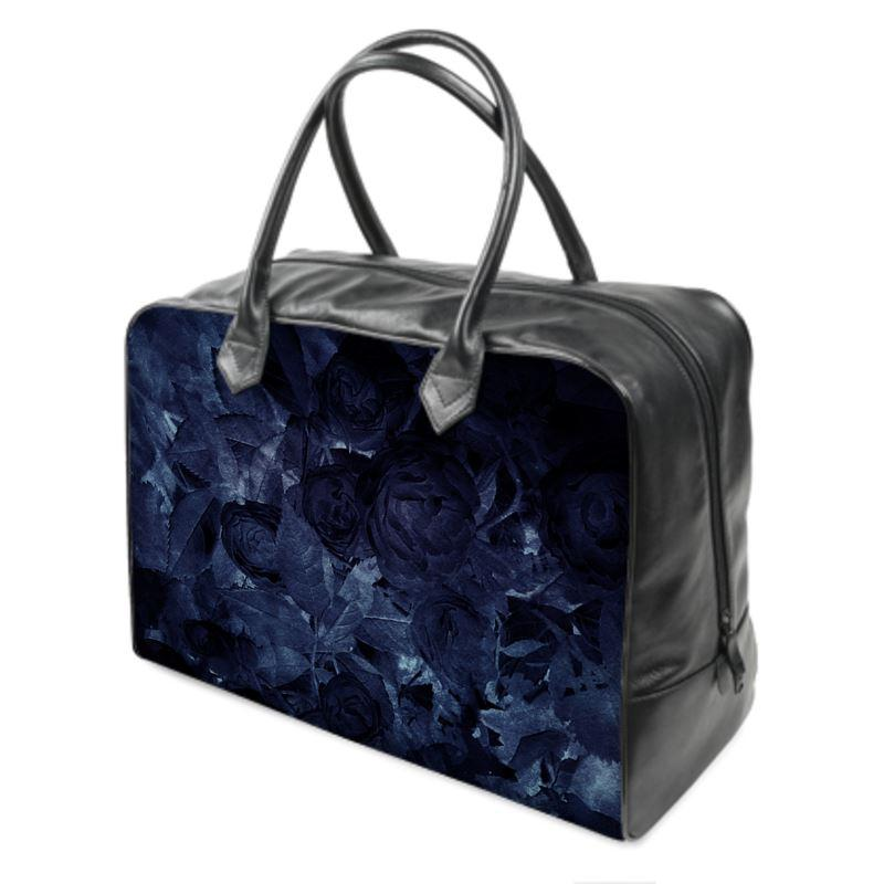 Castlefield Design Midnight Roses Weekender Bag