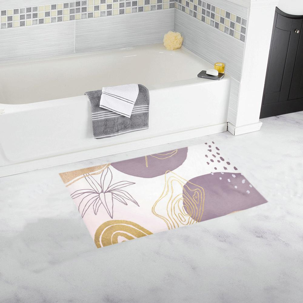 Castlefield Design Modern Shapes Bath Mats