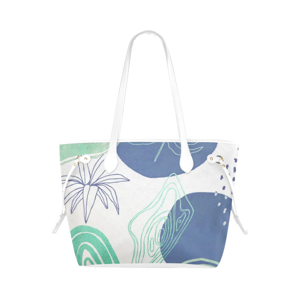 Castlefield Design Modern Shapes Canvas Tote