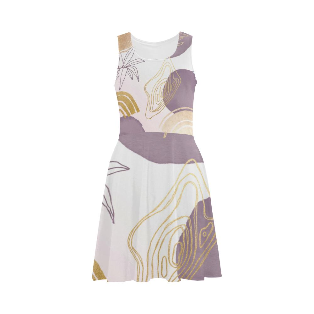 Castlefield Design Modern Shapes Flare Dress