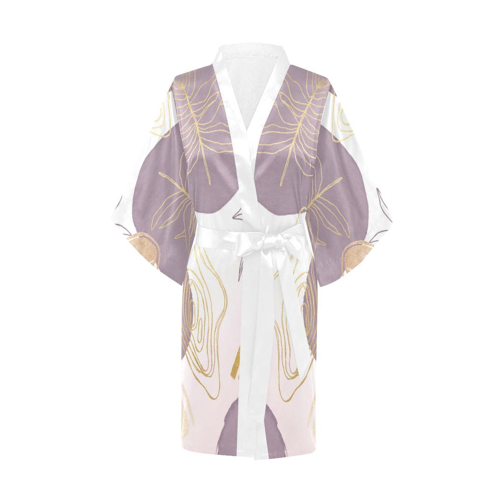 Castlefield Design Modern Shapes Satin Robe