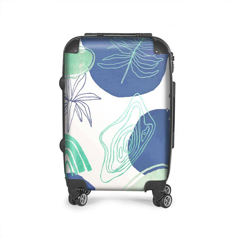 Castlefield Design Modern Shapes Suitcase