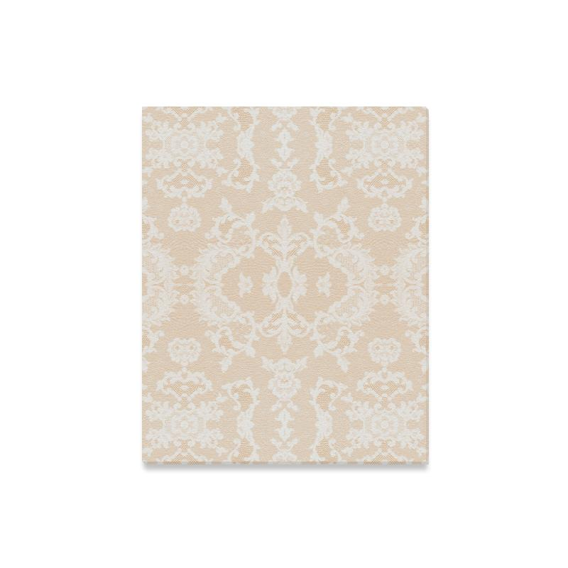 Castlefield Design Neutral Lace Canvas Prints