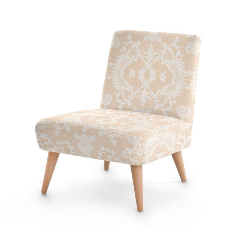 Castlefield Design Neutral Lace Chair