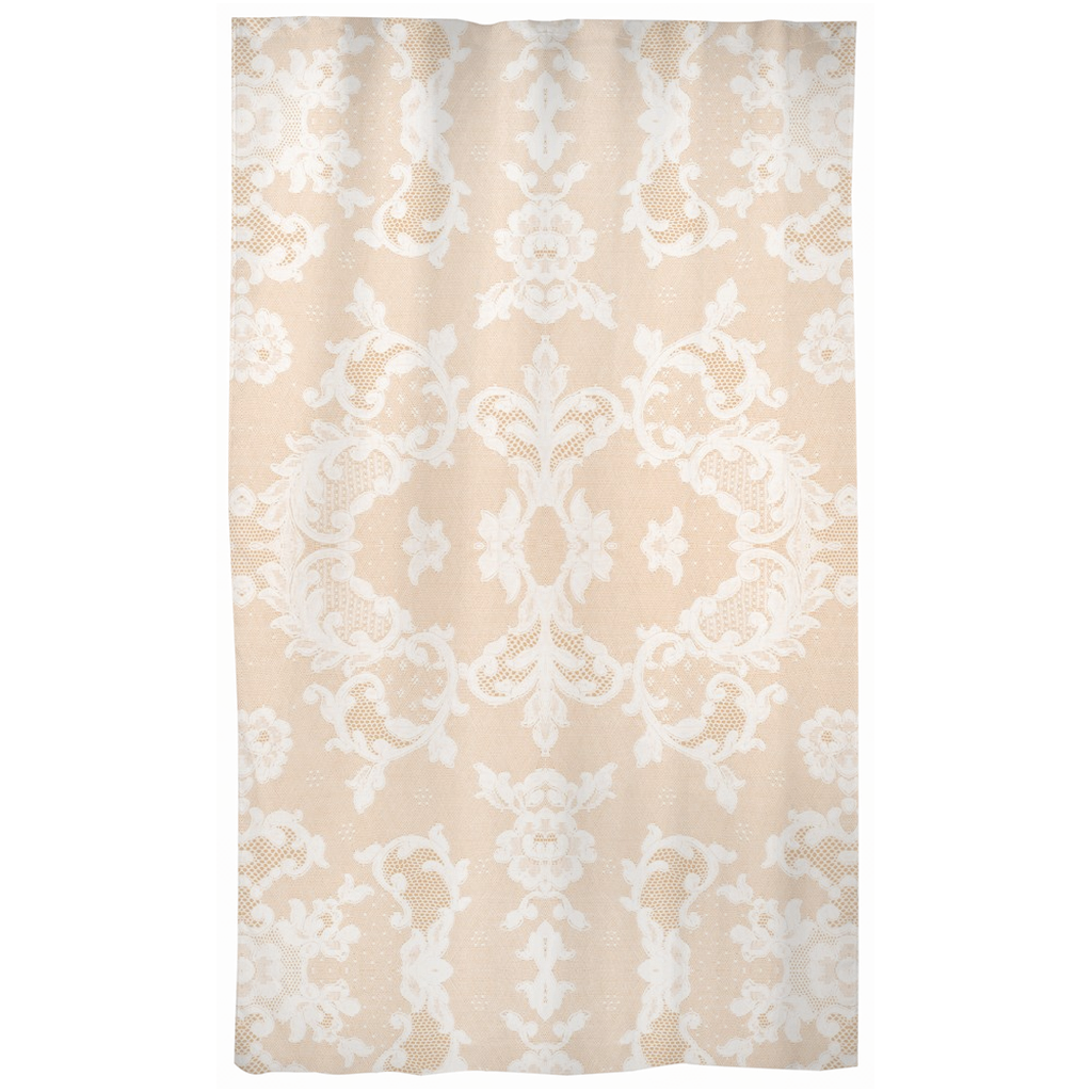 Castlefield Design Neutral Lace Curtains