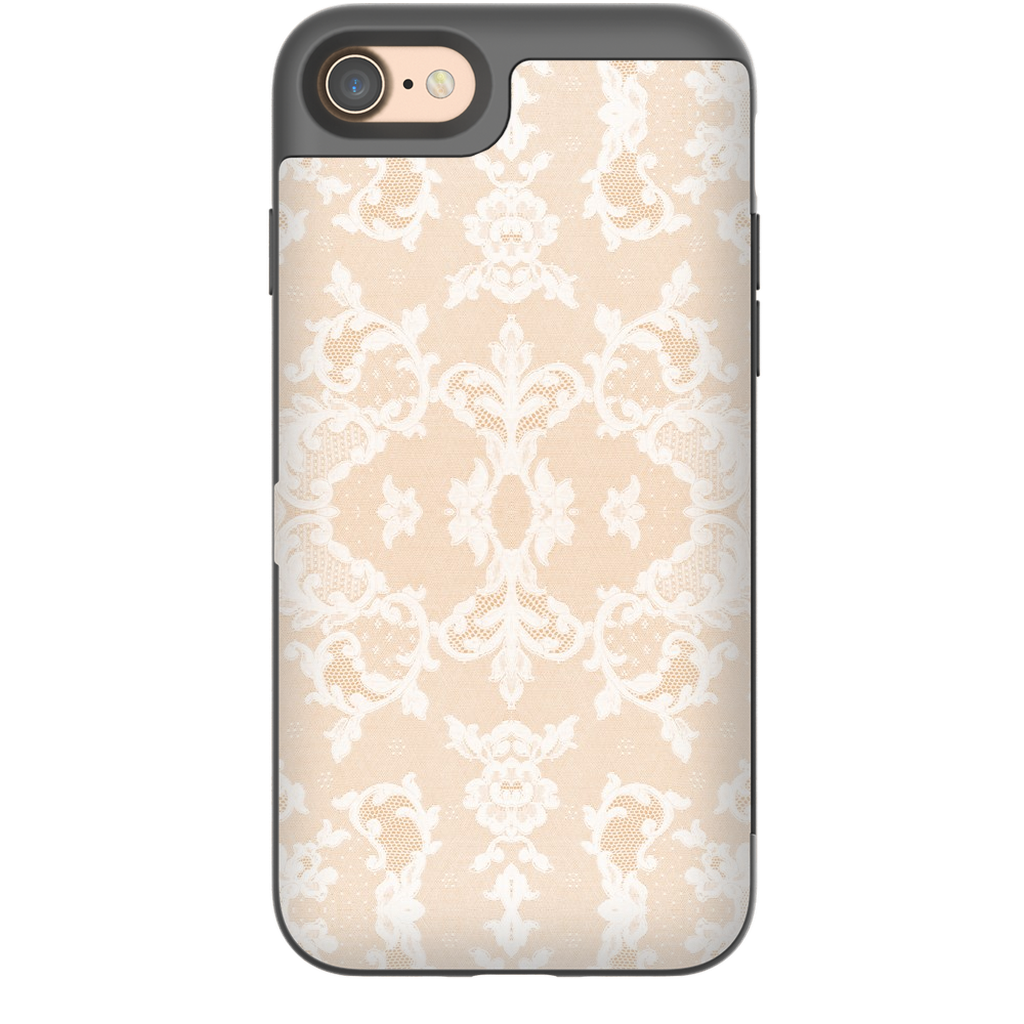 Castlefield Design Neutral Lace iPhone Cases