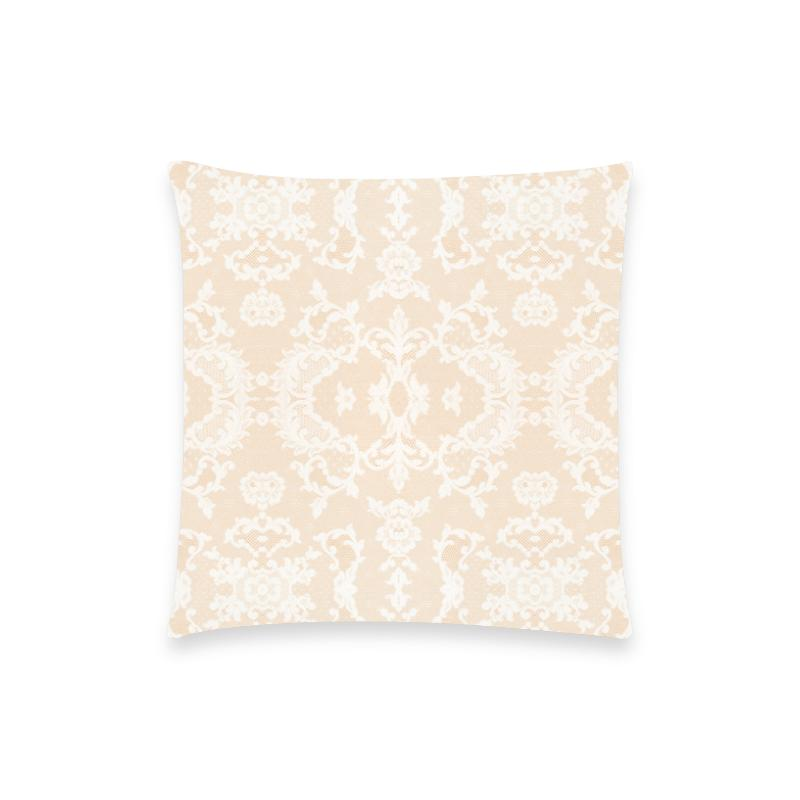 Castlefield Design Neutral Lace Pillow Cases