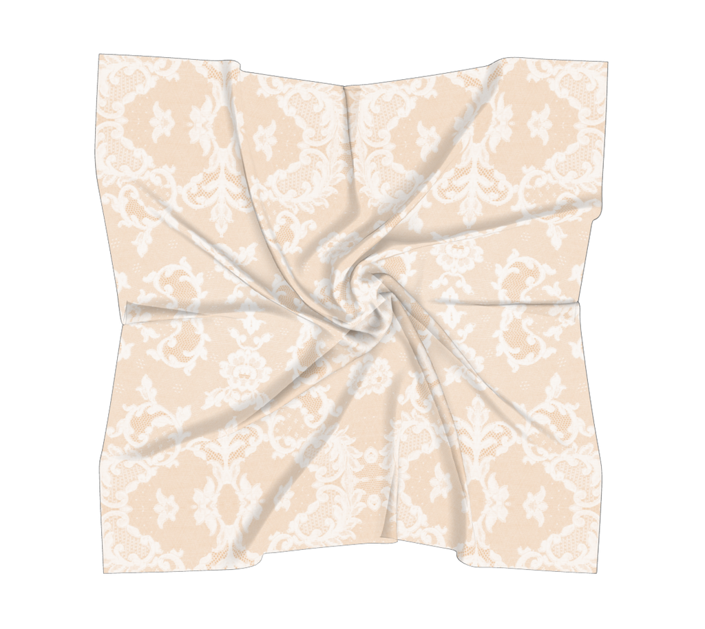 Castlefield Design Neutral Lace Scarves
