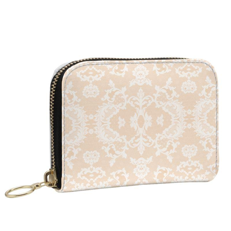 Castlefield Design Neutral Lace Small Wallet